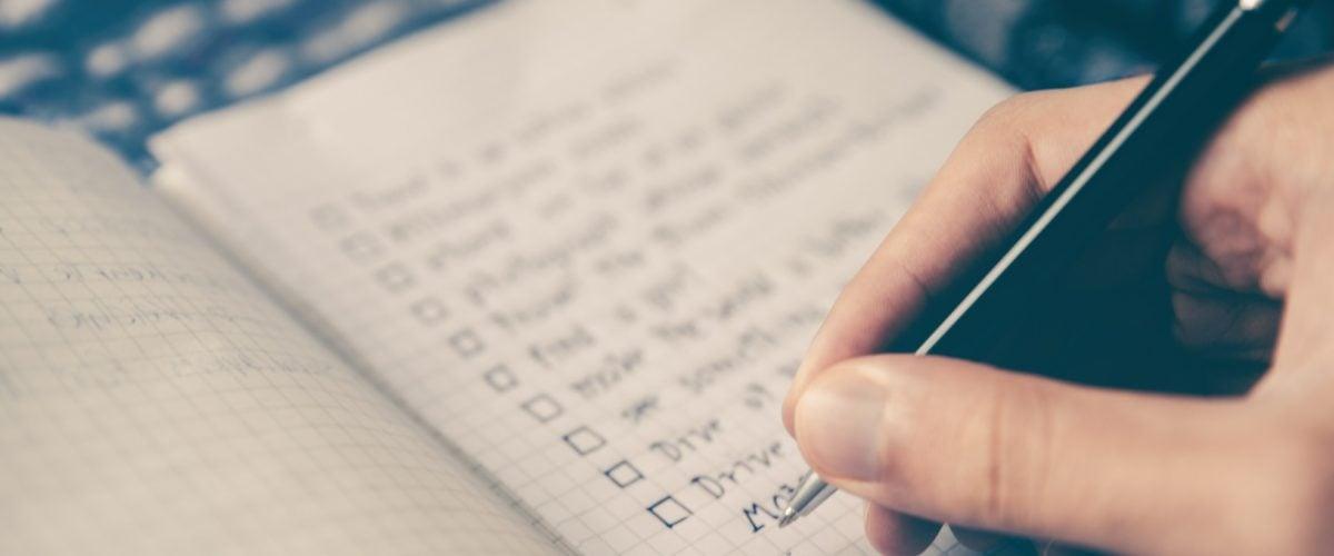 Journaling: Warum Du ab sofort ein Listen-Tagebuch führen solltest