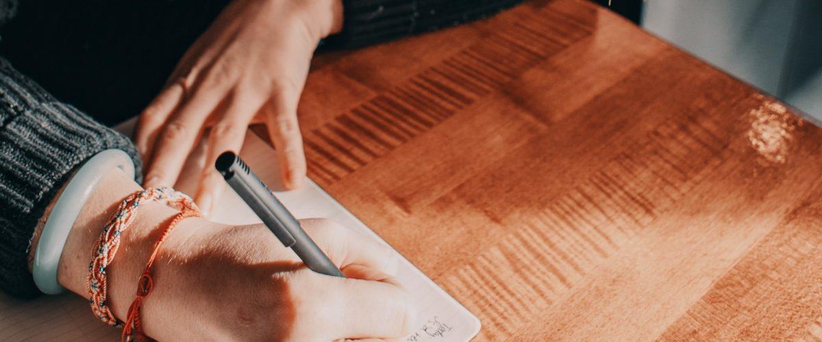 Schreibübung 59 – Ein Brief an Dich