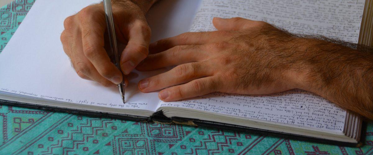 #Schreiberfahrungen –  Schreiben bedeutet Kontakt mit dem inneren Kompass