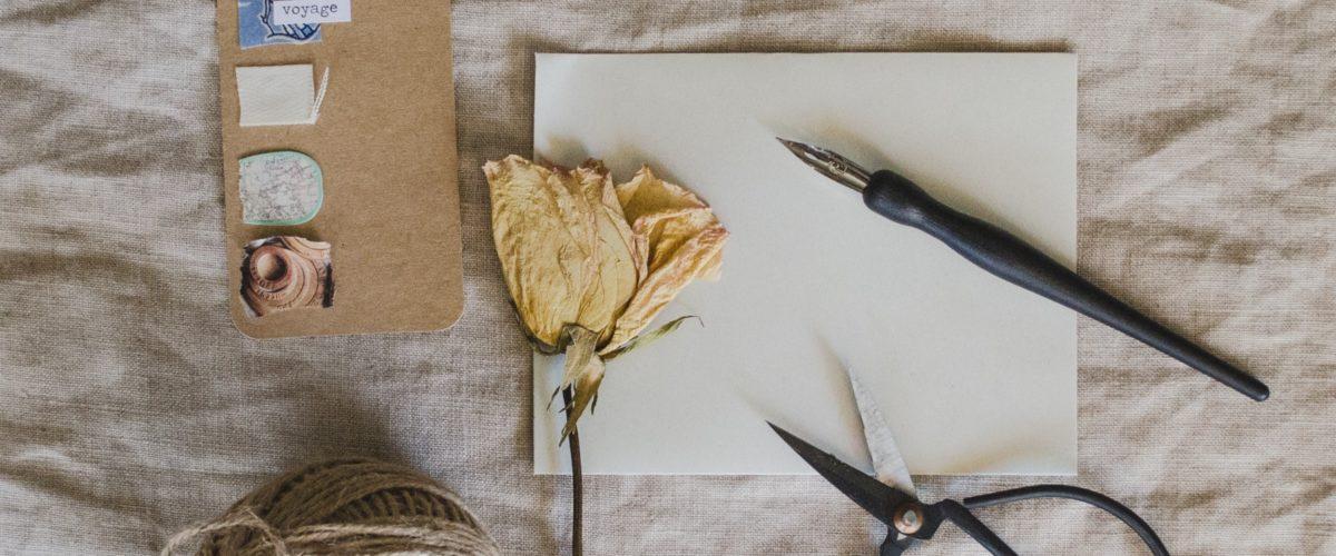 Verbrennen und Vernichten: Ein Schreibritual für negative Gedanken
